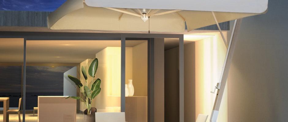 Milano braccio notte scolaro parasol ombrelloni da for Ombrelloni da giardino milano