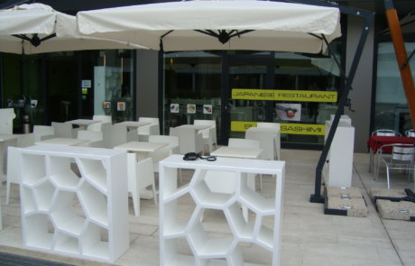 terrace parasol bar hotel