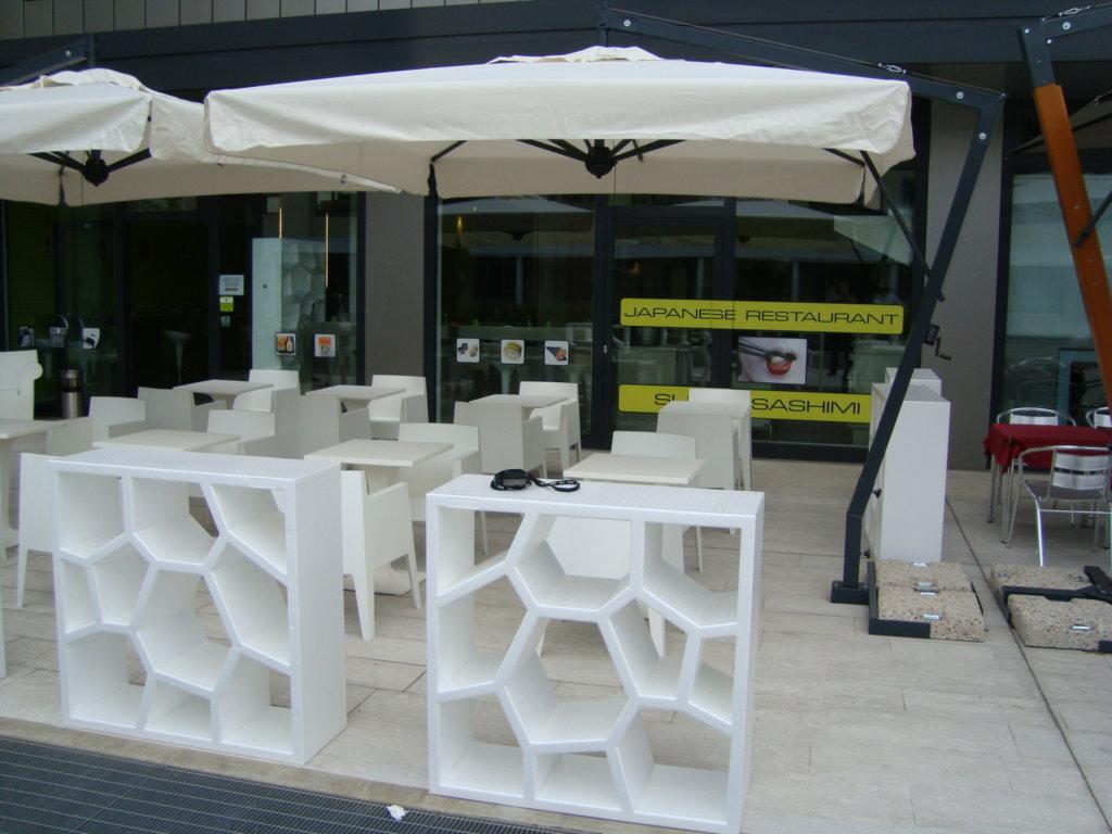 terrace parasol bar hotel