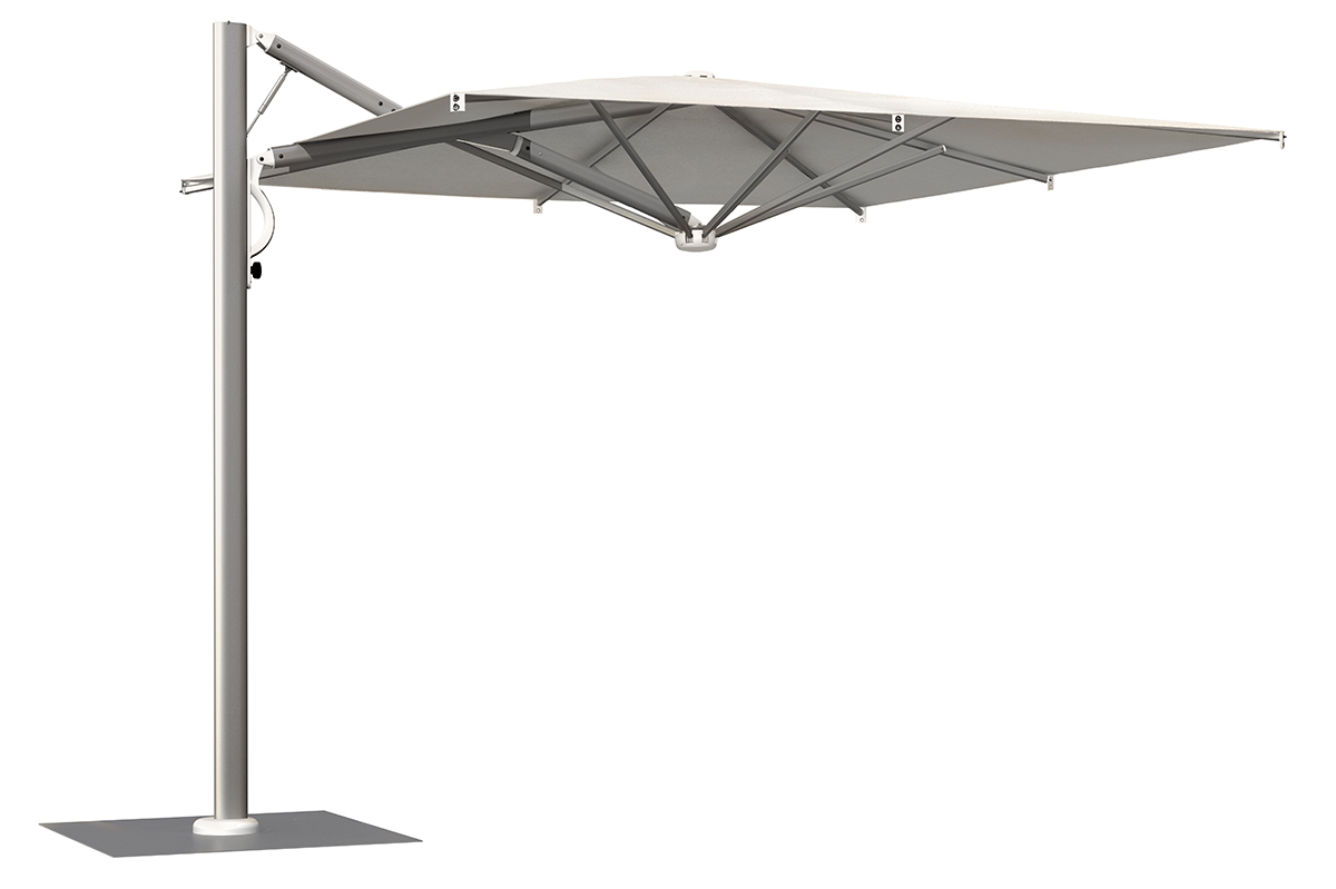 Retractable Parasol For Outdoor Parasols Made In Italy