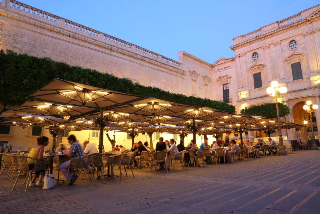 Alu Poker/Double @ Caffè Cordina, La Valletta, Malta