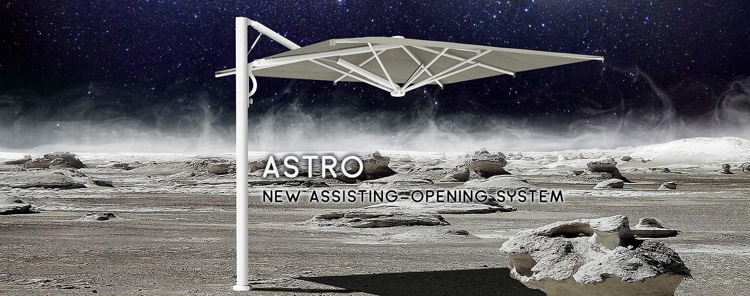 Astro Starwhite parasol