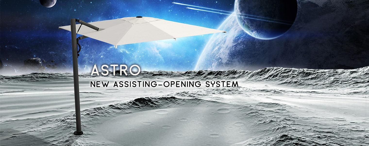 Astro Carbon parasol